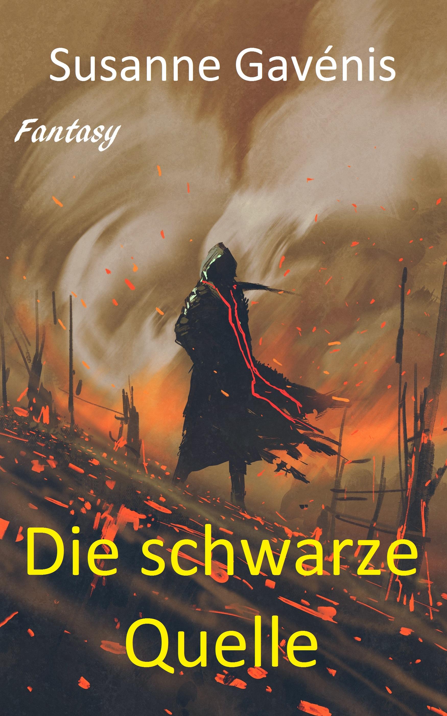 Die schwarze Quelle, Susanne Gavenis Vian_Cover_Final
